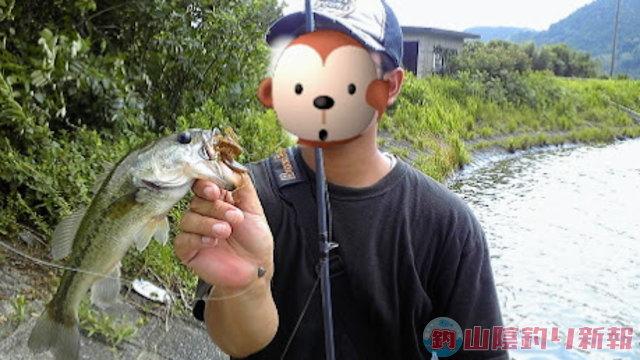 炎天下での釣り★☆☆☆