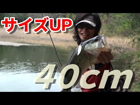 ブラックバス釣り【サイズup】
