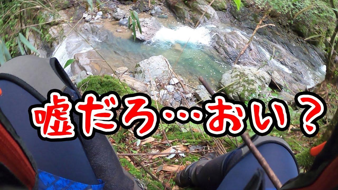 ヤマメ釣り禁漁目前なので渓流に行ったのはいいが…