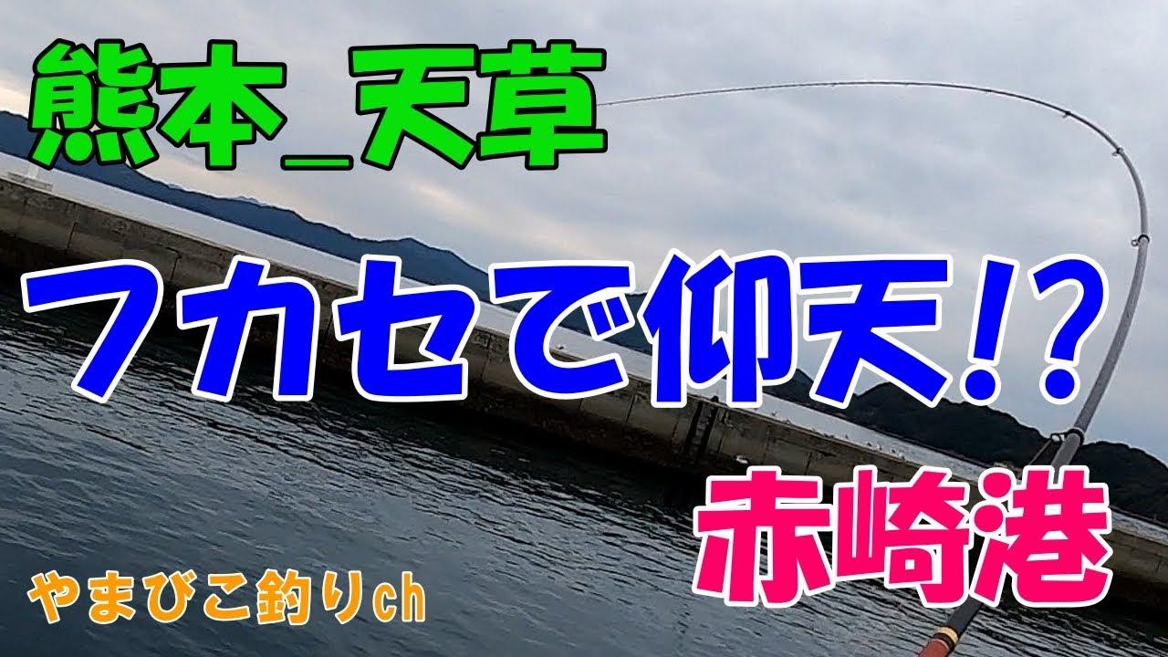 【龍ヶ岳】赤崎港でフカセ釣り!