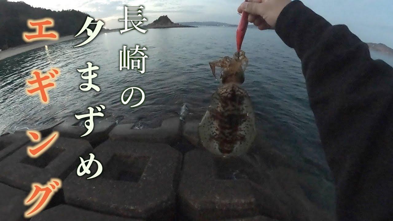 【エギング】春イカを求めてランガン【神ノ島・伊王島・D ZONE裏】