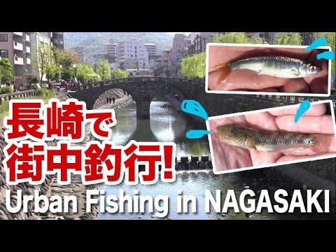 長崎市内で街中釣行!(観光地含む)