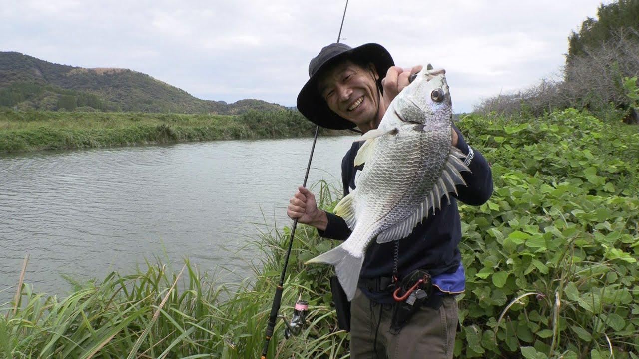 宮崎日南の汽水域で興じる軽やかなライトルアーゲーム