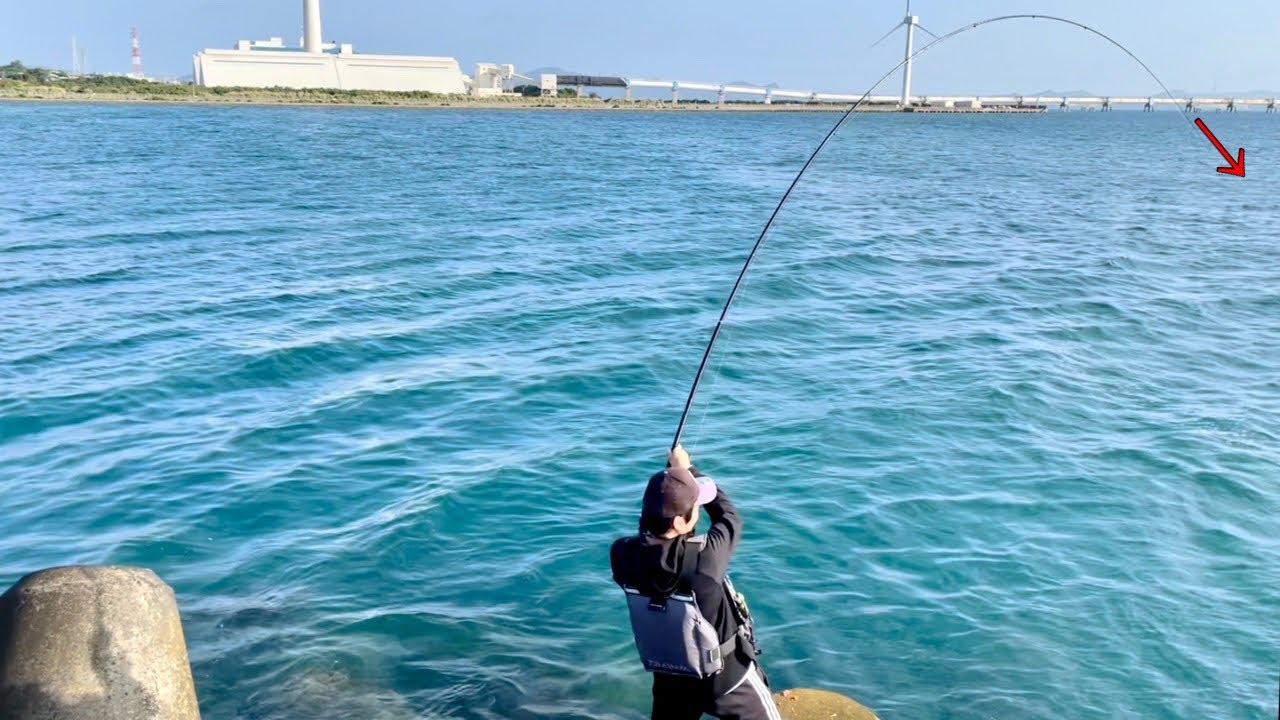 久しぶりのフカセ釣りで引ったくる回遊魚
