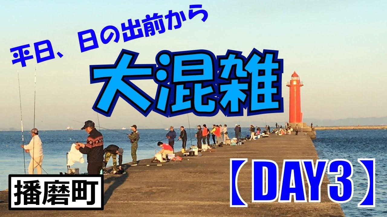 平日、日の出前から大混雑【兵庫県播磨町】