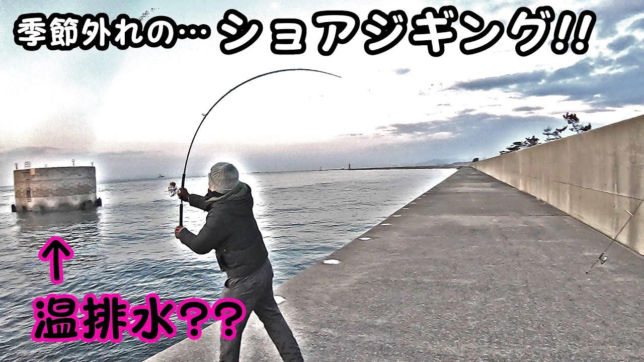 【中島埠頭】季節外れのショアジギング