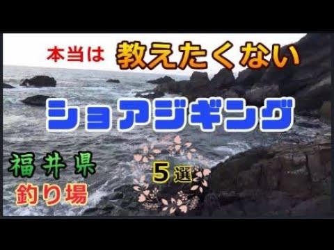 福井県のショアジギングの釣り場紹介