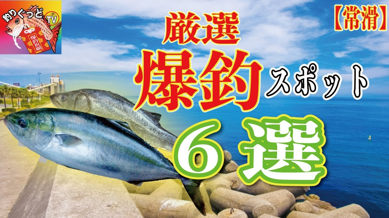 【行けば釣れる釣場6選】常滑釣りスポット