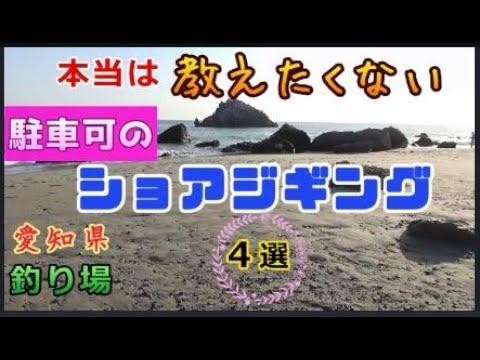 ライトショアジギングのサーフ/釣り場紹介【青物&車横付け&初心者OK】