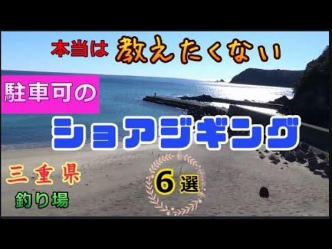 ショアジギングのポイント紹介/南伊勢