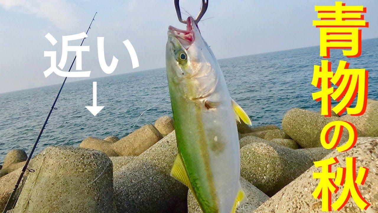 [ショアジギ]シーバスロッドで楽しむ青物釣り。去年ハマチが乱舞した三重県津市