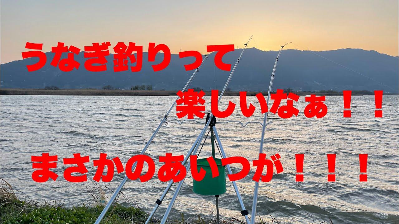 うなぎ釣りのはずがまさかの〇〇〇!