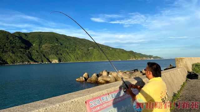 恵曇(えとも)漁港でキス釣りマサルッティ