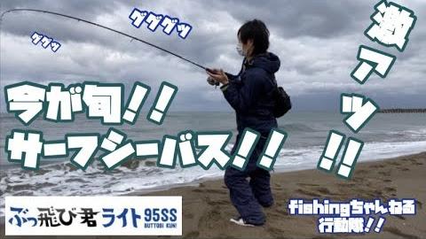 シーズン到来!!激アツサーフfishing!!