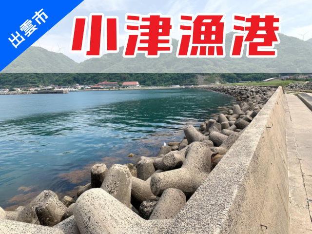 """出雲市の釣り場情報""""小津港"""""""