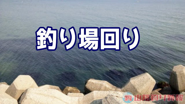 福岡市東部シャクりながらの釣り場回り