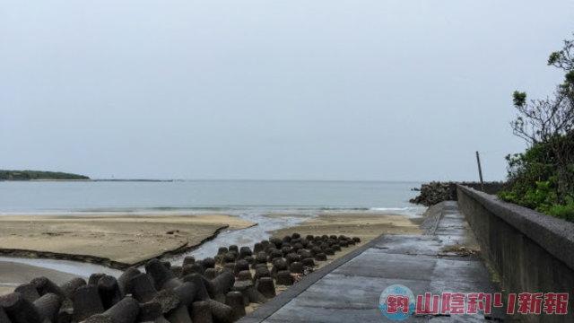 梅雨前線の真っ只中で日向灘へ向かったところ…