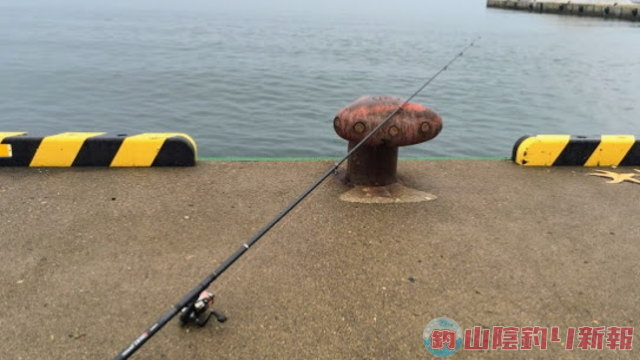 網走で投げ釣り