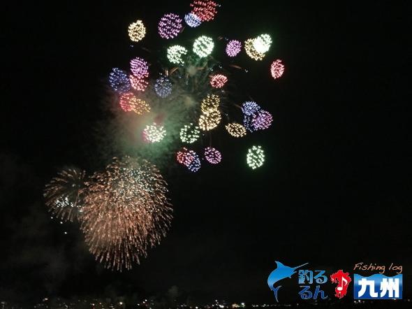 毎年恒例の関門海峡花火大会へGROOVEさんで!
