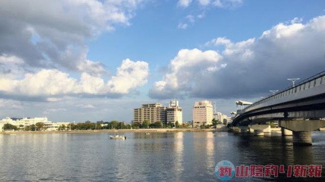 宍道湖シーバスを求めてin松江市