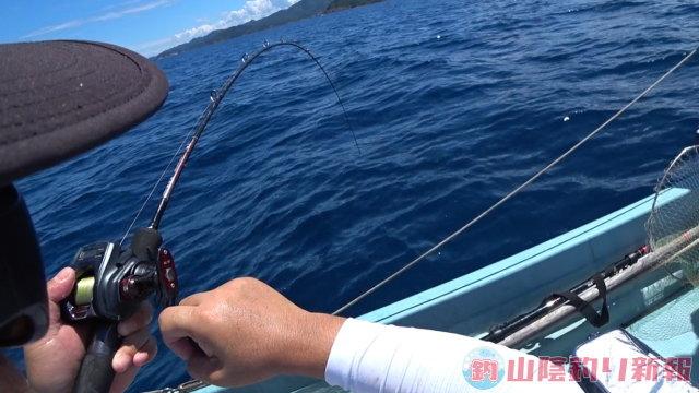 カドさんボートでイサキ釣り
